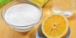 Lemon and bicarbonate of soda