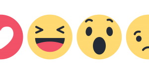 Facebook reactions icon