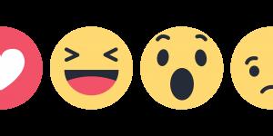 Facebook reactions icon
