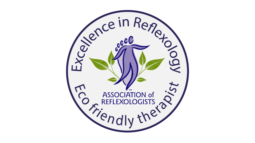 Association of Reflexologists Eco Friendly Therapist pledge logo