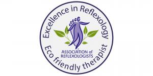 Association of Reflexologists Eco Friendly Therapist pledge logo